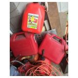 6 Gas Cans