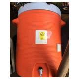 Round Orange Cooler