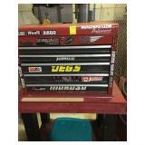 Tool Box, w. misc items