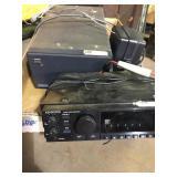 Kenwood Wideband Receiver/power supply