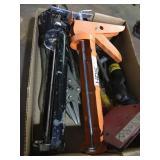 Caulk Guns, Asst tools