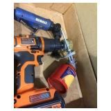 Black & Decker Drill & Kobalt Tool