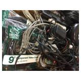 Asst Video Cables and Power Cords