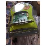 Hi Speed 5 Port USB 2.0 Card and parts