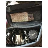Canon Camera with bag