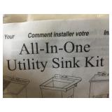 All in One Utility Sink Kit