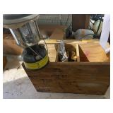 Outdoor Lantern and supplies