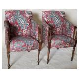 Pair of Ethan Allen Arm Chairs,  Traditional