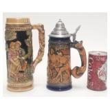 Pair of vintage German steins Gerzit,