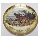 Elk Porcelain Platter BAVARIA