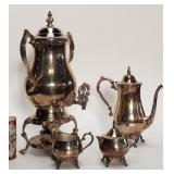Oneida Silver Plate coffee set