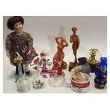 Porcelain glass ceramics and collectibles