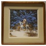 Bev Doolittle signed and numbered , low number,