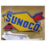 Vintage Sunoco Lighted Sign