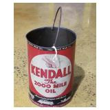 Vintage Kendall Oil Can w Handle