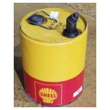 5 hal shell yello red can