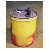 Vintage 5gal gas Can