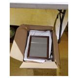 2 boxes of 9 x 11 picture frames, apx 35 total