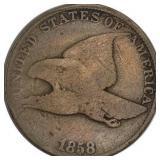 Lot 18) 1858 Flying Eagle Cent VG (5484970)