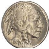 Lot 34) 1920-S Buffalo Nickel F (5488913)