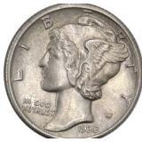 Lot 45) 1935 Mercury Dime MS (5491847)