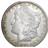 Lot 66) 1891-O Morgan Dollar Silver AU (5496948)