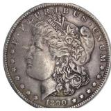 Lot 65) 1890 Morgan Dollar Silver XF (5496726)