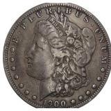Lot 68) 1900-S Morgan Dollar Silver VF25 (5497392)