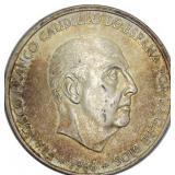 Lot 83) 1966 (68) Spain 100 Pesetas Silver UNC (5500722)