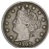 Lot 106) 1909 Liberty V Nickel (5522939)