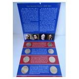Lot 110) US Mint 2010 Presidential Dollar UNC Coin Set Philadelphia Denver (5524546)