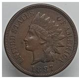 1887 Indian Head Cent IHC