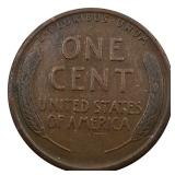 Lot 44) 1911 Wheat Cent Lincoln Penny VF (5456300)