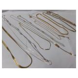 TRIFARI, GOLD-PLATED & OTHER NECKLACES]