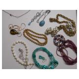 COSTUME & TURQUOISE PENDANT NECKLACES