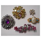 FIVE(5) DIFFERENT BROACHES