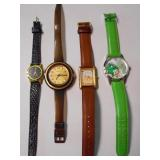 FOUR(4)  WATCHES