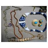 COSTUME NECKLACES, EARRINGS & OTHER JEWELRY