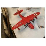 Texaco Die Cast Air Plane Bank