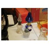 3 Small Oil Lamps
