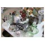 Lot of Jars,Decor,etc