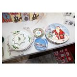 Lot of Christmas Collector Plates