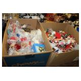 2 Boxes of Christmas Decorations