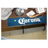 Corona Metal Sign