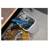 Lot of Electric Cords,Various Tools
