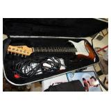 Austin Electric Guitar & Hard Case