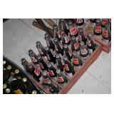 Wooden Crate of Al Coca Cola Bottles