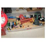 Lot of Train Toys & Track