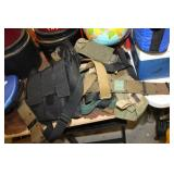 Lot of Various Belts & Pouches