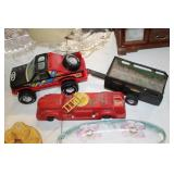Toy Truck & Trailer & Fire Truck